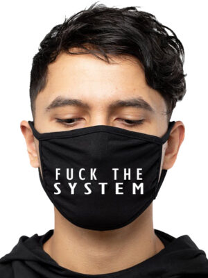 Mască Fuck the System