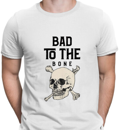 bad to the bone barbat alb 2